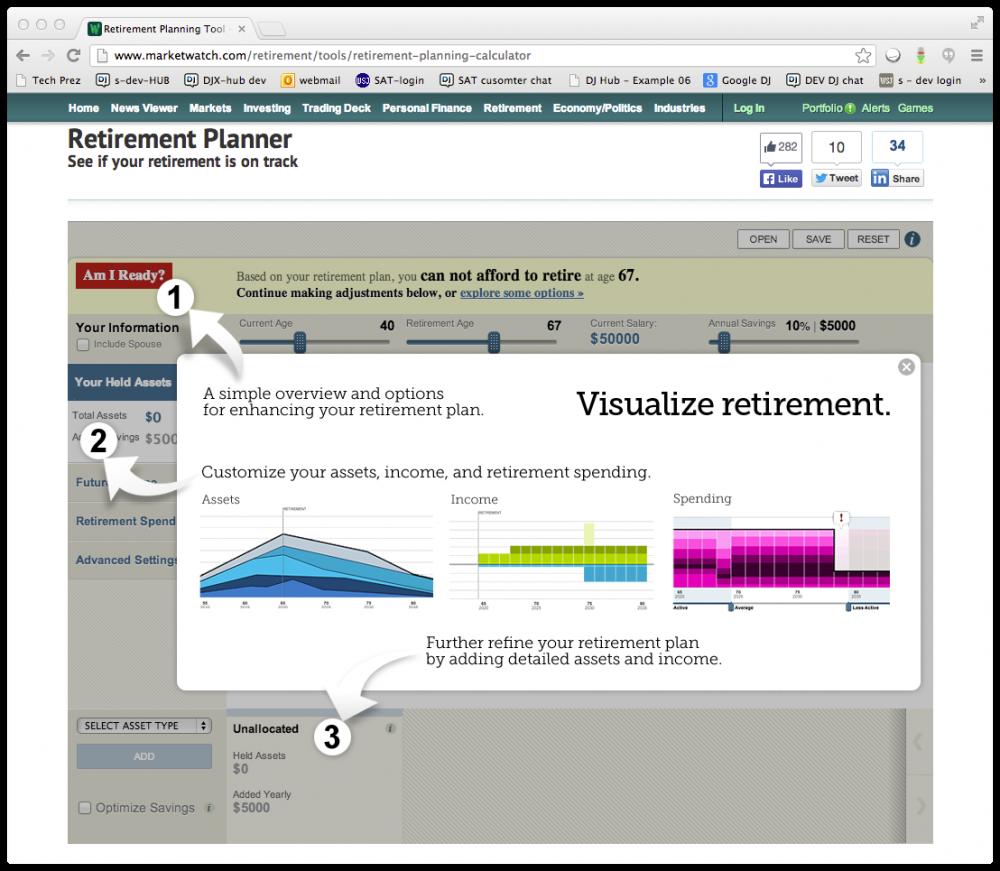 retirement planner app greg kuebler